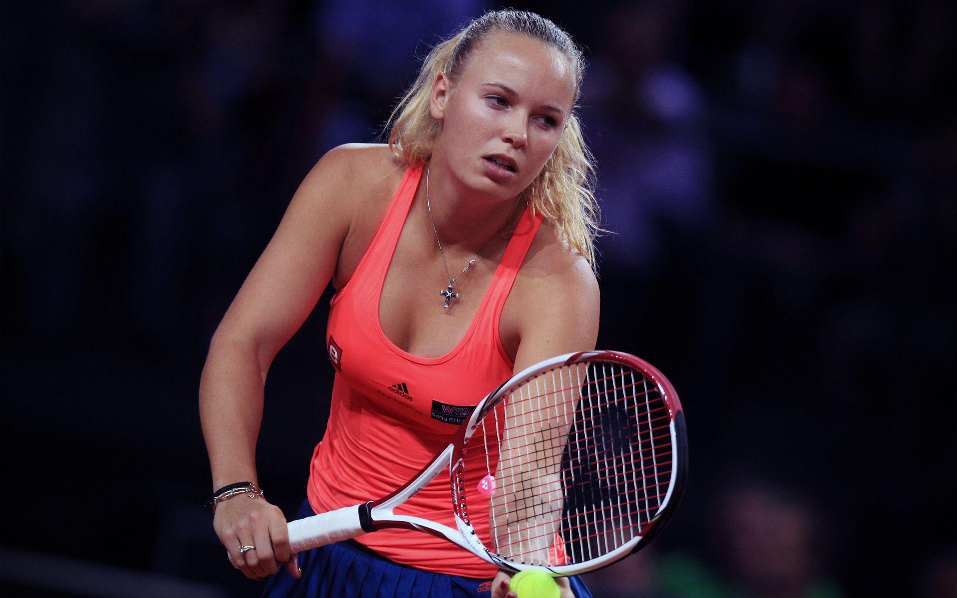 Woman Tennis Player 1080p Hd Wallpaper Sports: Caroline-wozniacki-hd-images-8