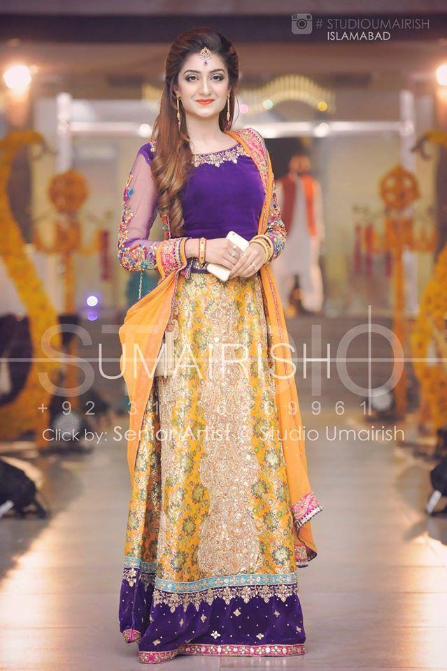 Pakistani Mehndi dress \u2026