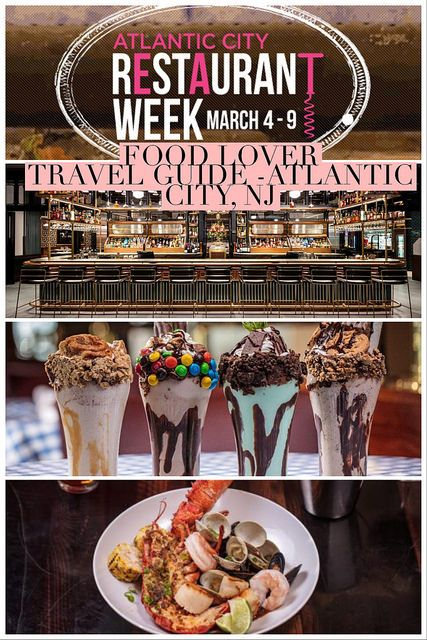 Food Lover Travel Guide Atlantic City, NJ (Winter 2018 Edition)
