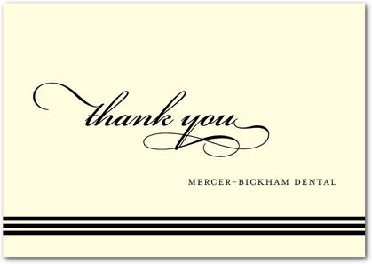 Thank You card template INSTANT DOWNLOAD by totallydesign on Etsy – Business Thank You Card Template