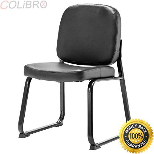 COLIBROX--Set of 2 PU Conference Chair Reception Office ...