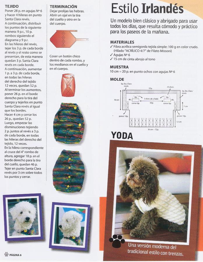 el blog de anamary: tejiendo para nuestras mascotas... | patrones de ...