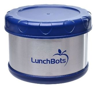 Lunchbots insulated thermal blue lunch container 2519 healthy lunchbots thermal insulated food container dark blue enjoy a hot lunch on the go lunchbots thermal insulated food containers keep hot foods ho forumfinder Choice Image