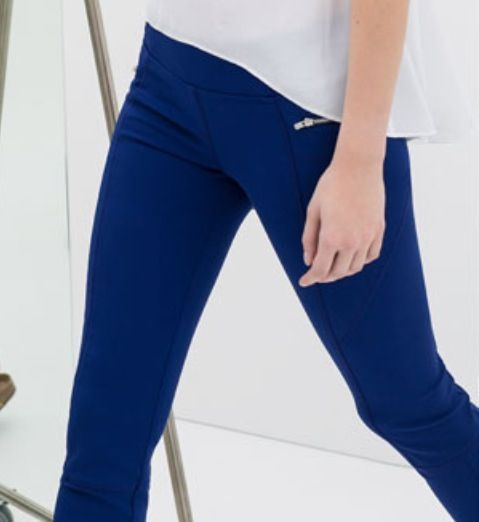 Cobalt blauwe skinny