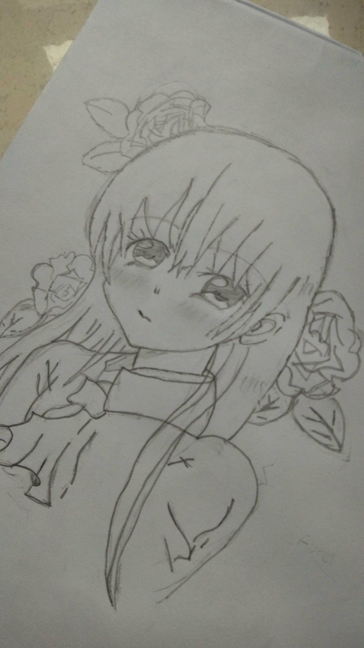 80 Gambar Anime Keren Pake Pensil Terlihat Keren