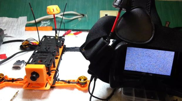 Photo of 3D Printed 250 Racing Quadcopter