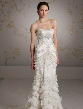Gorgeous Great Gatsby Inspired Wedding Gowns at Kleinfeld! | Silk ...
