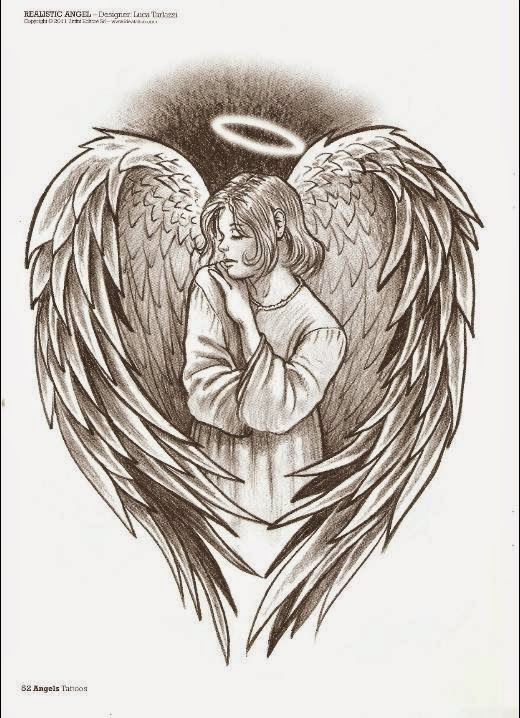 522 Jpg 520 718 Angel Drawing Angel Tattoo Wings Drawing