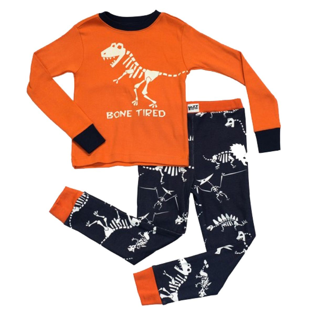 Bone Tired Kids Long Sleeve Pyjama Set Kids fashion