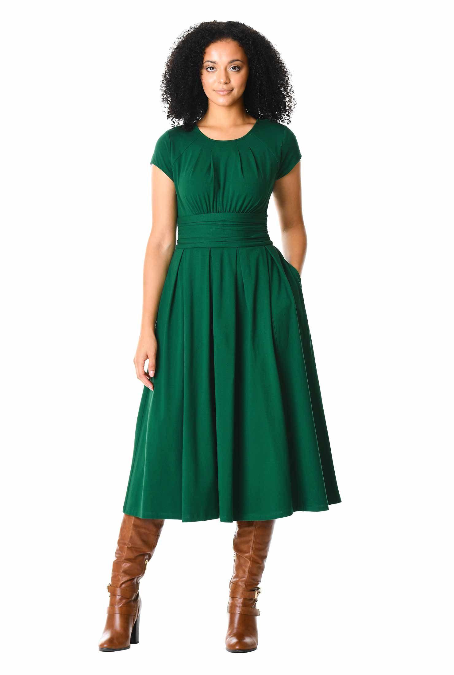 Womens Sundresses Summer Sun Dresses For Women Online White Long Plus Size Petite Missy Tall Cotton S Fashion Clothes Women Dresses Green Knit Dress [ 2200 x 1480 Pixel ]