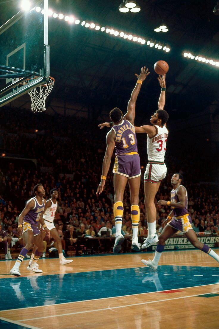 Kareem Lakers Basketball Nba Legends Kareem Abdul