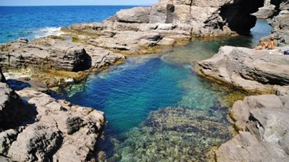 Piscina naturale di is praneddas sant 39 antioco sardegna photos videos pinterest - Isola di saona piscine naturali ...