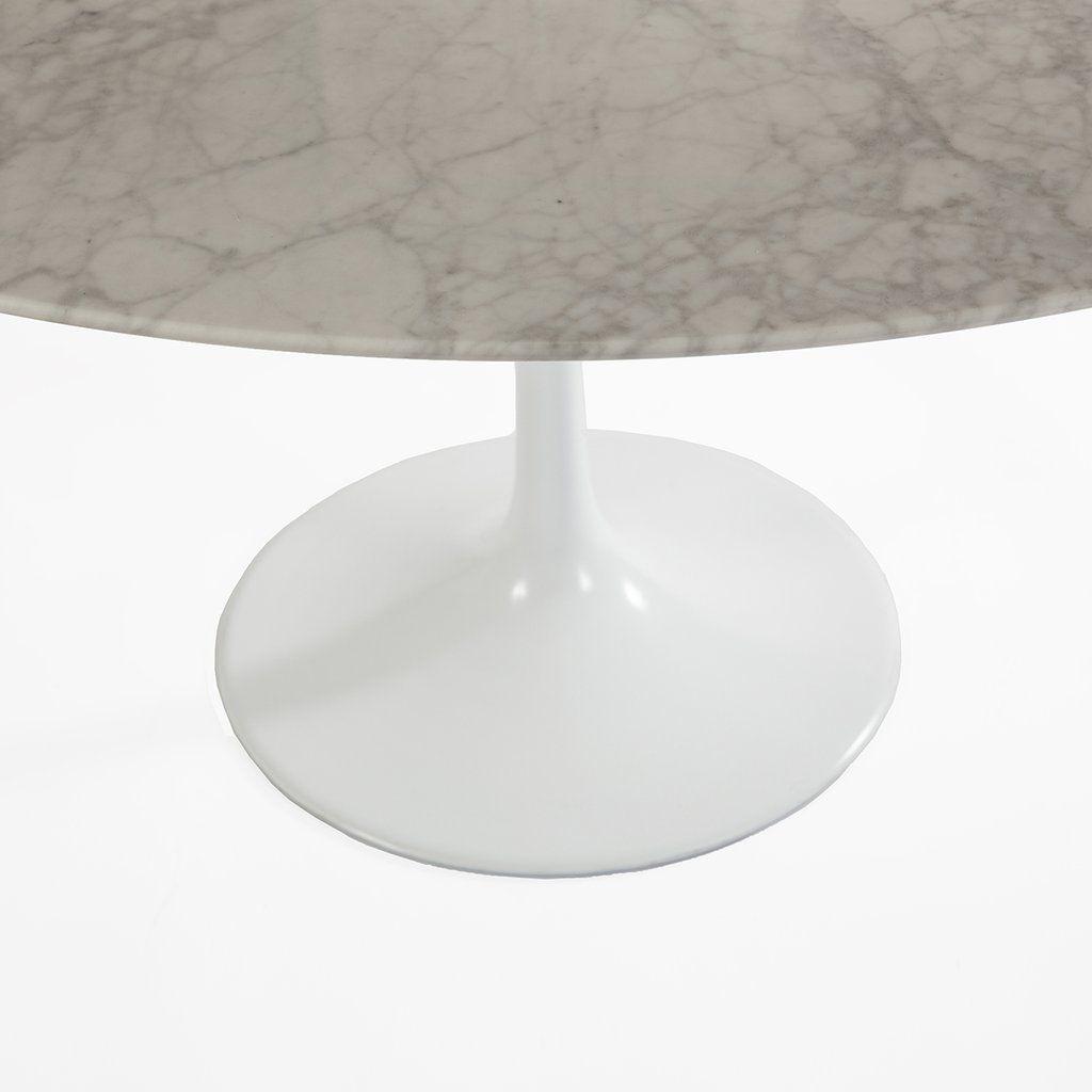 Carrara Marble Tulip Dining Table 36 Round Tulip Dining Table Dining Table Saarinen Table