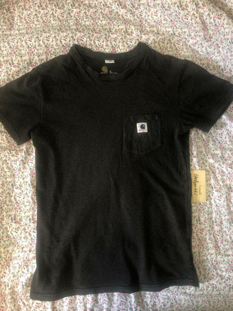 365e5de5 Carhartt x Adam Kimmel Pocket Crewneck T Shirt Brown S Small Fragment  #fashion #clothing
