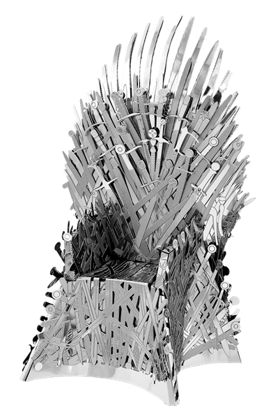 Metal Earth Game Of Thrones Iron Throne Models Are Amazingly Detailed Etched Models That Are Fun And Satisfying To Assemble