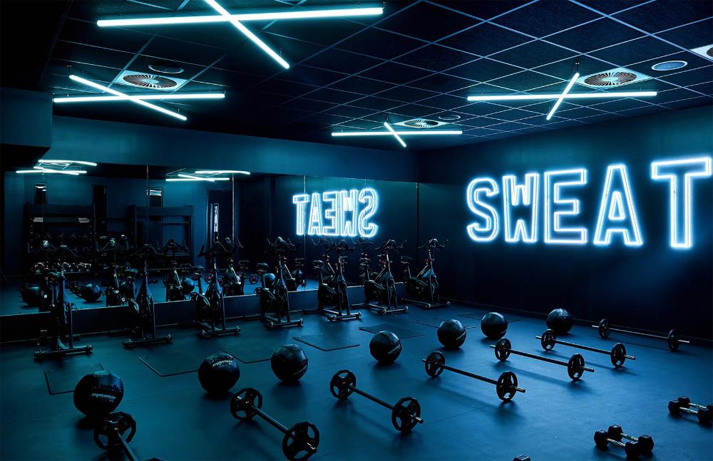 Gyms That Raise The Bar For Design The Spaces Gym Design Gym Lighting Gym Interior