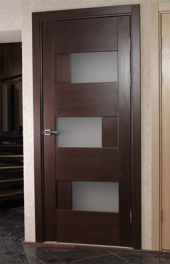 Dominika Contemporary Interior Door With Glass