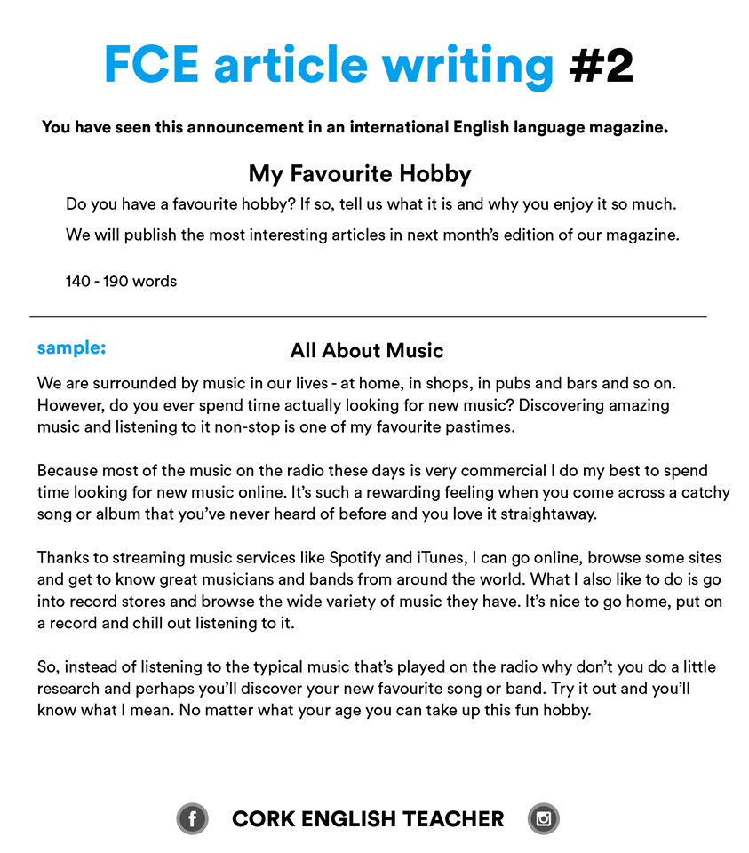 fce exam writing samples my favourite hobby english writing fce exam writing samples my favourite hobby