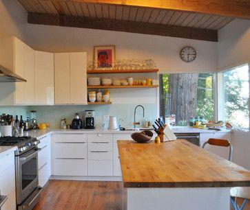 Modern Kitchen Updates mid-century kitchen update - modern - kitchen - san francisco