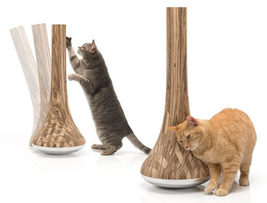 Leo Modern Cat Scratching Post From James Owen Designs Chien