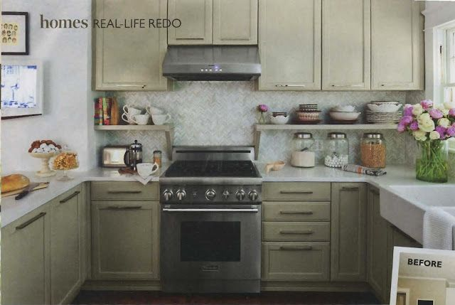 Two small yet stylish kitchens | Kitchen cabinets to ...