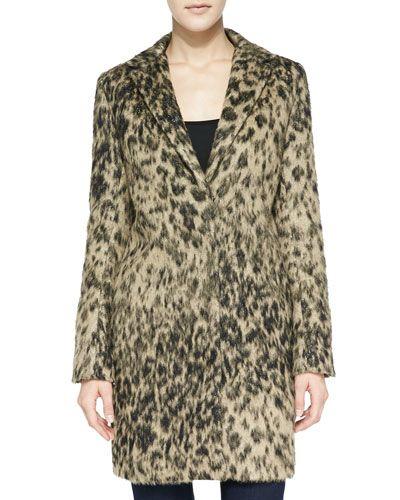 0d78813ca3d9 T8MQ7 Smythe Alpaca Leopard-Print Lab Coat | Don't Judge a Coat by ...
