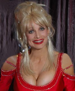 are breasts large partons How dolly