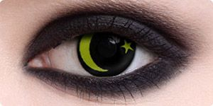 Night Sky Contact Lenses Halloween Contact Lenses Cool Eyes Zombie Eyes