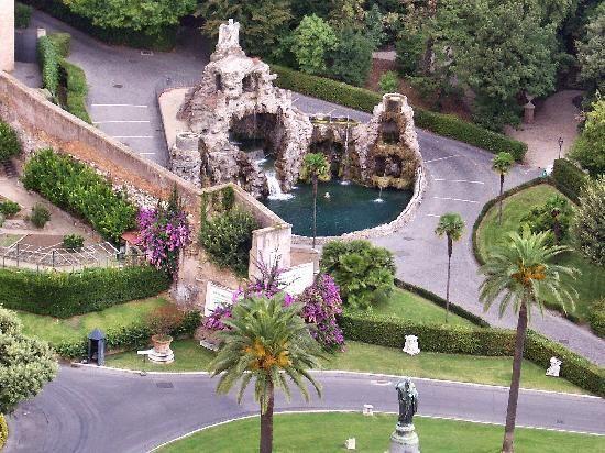 Rome, Italy: Gärten im Vatikan