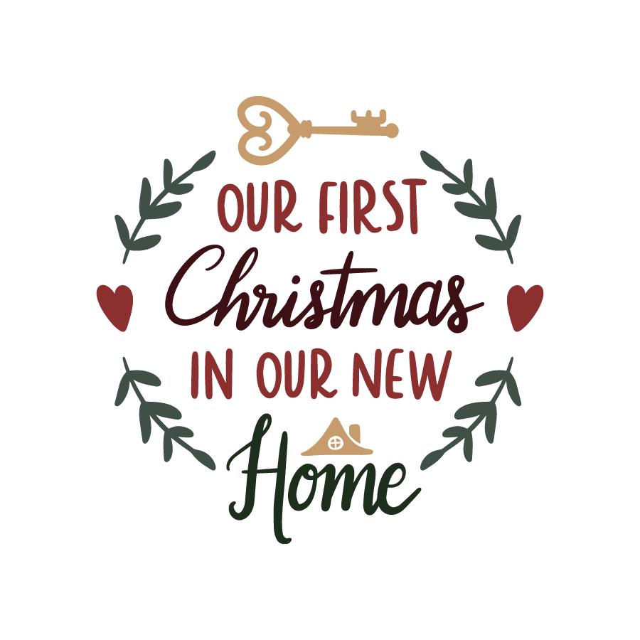 Bundle Freebie Our first christmas ornament, Christmas