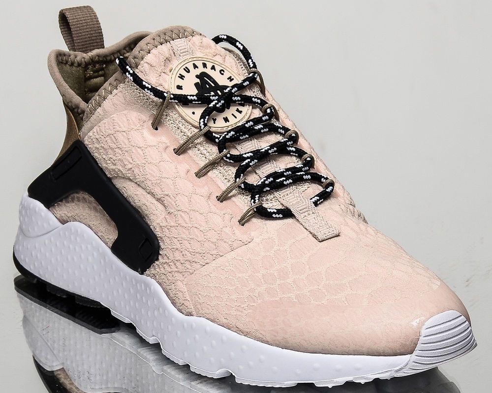 482c57b3ac54 Nike WMNS Air Huarache Run Ultra SE women lifestyle shoes NEW oatmeal  859516-100