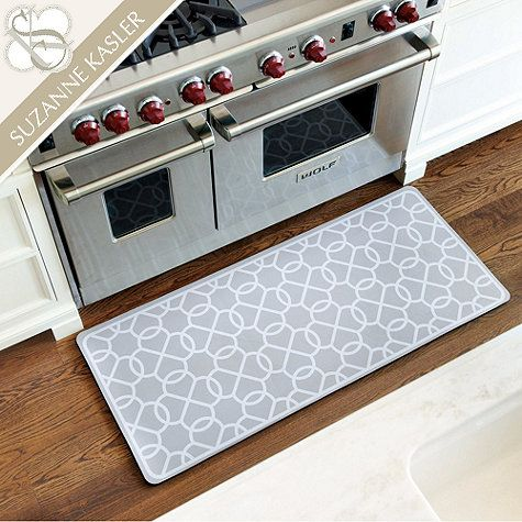 Suzanne Kasler Quatrefoil Comfort Mat Would Love Two In Medium