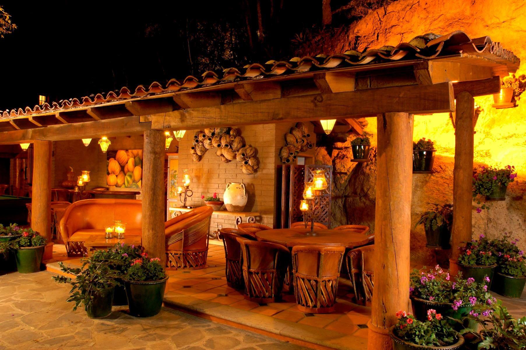 Decoracion Mexicana Casas De Campo Terrazas Rusticas Terraced House