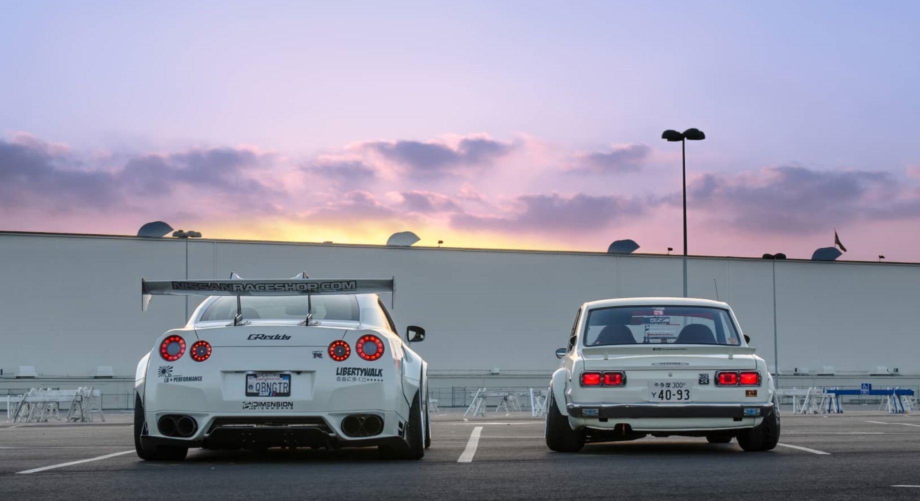 R35 GT-Rとハコスカ