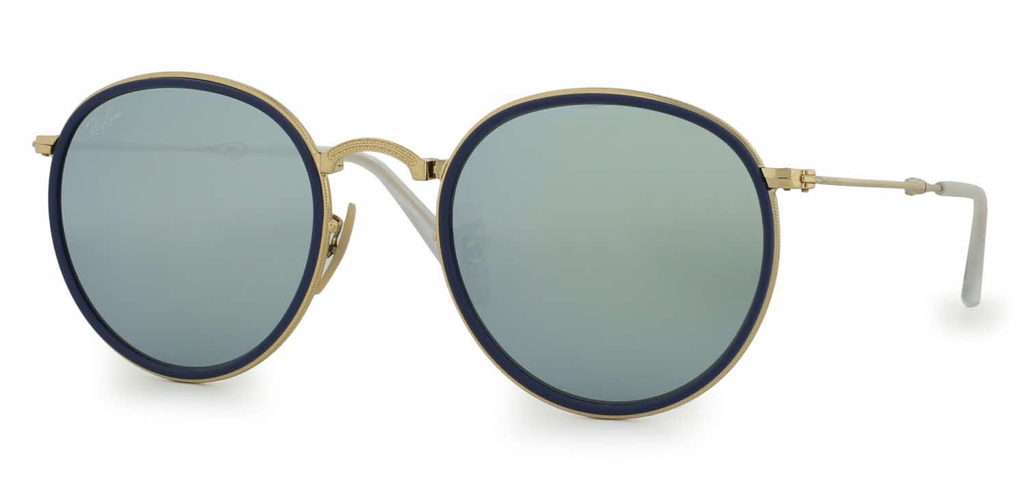 b1bd25cd86 Ray-Ban RB3517 - Round Folding Classic Sunglasses