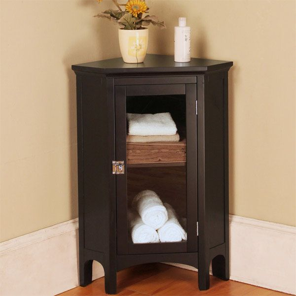 20 Corner Cabinets To Make A Clutter Free Bathroom E What I Rh Pinterest Co Uk Very Small Table For