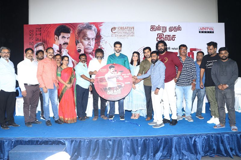 Actor Vijay Antony Speech @ Kabadadaari Movie Audio Launch Video