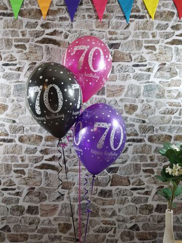 Blue pink  purple th birthday balloon idea birthdayparty partyideas thbirthday party decorations also best ideas images on pinterest in rh
