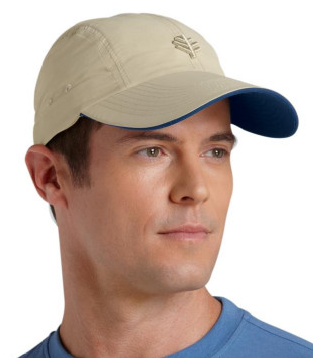 497f6055c56 A mens sun hat with removable neck flap allows you to customize your  coverage. Wear Coolibar Super Sport Hat baseball cap style-with  sunscreen-or add ...