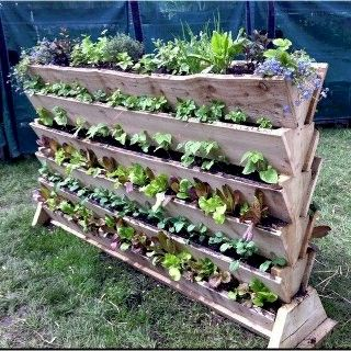 Small Garden Ideas Vegetables vertical vegetable gaden | small space gardening ideas | pinterest