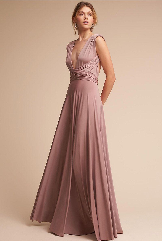 c527494098 20 modelos de vestidos de madrinha rosa para arrasar no altar ...