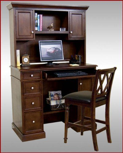 Solid Pine Wood Computer Desk Wood Computer Desk Computer Desk