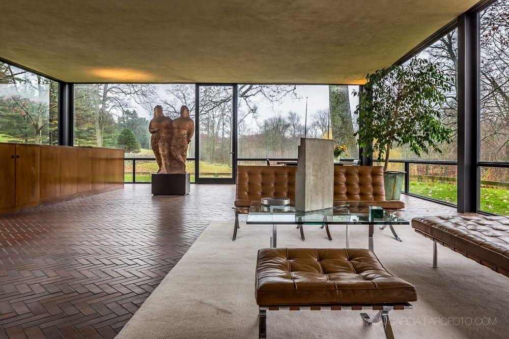 Architecture · the glass house philip johnson