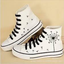 Malen Sie Bildergebnis für weiße Schuhe Schuhe pimpen