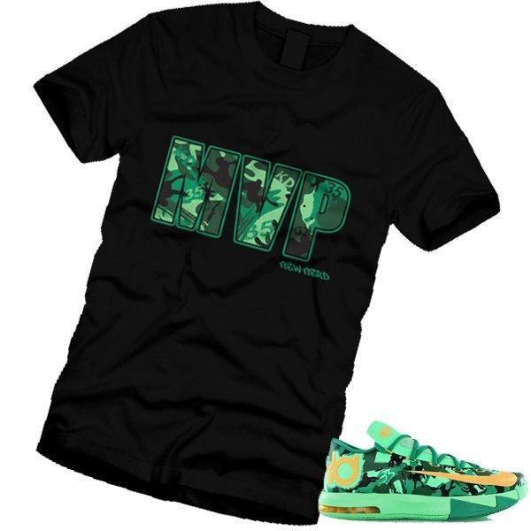 watch b2299 ba0d6 MVP 35 OKC THUNDER Durant EASTER T-Shirt Match KD 6 ORANGE GREEN NIKE MEN  WOMEN