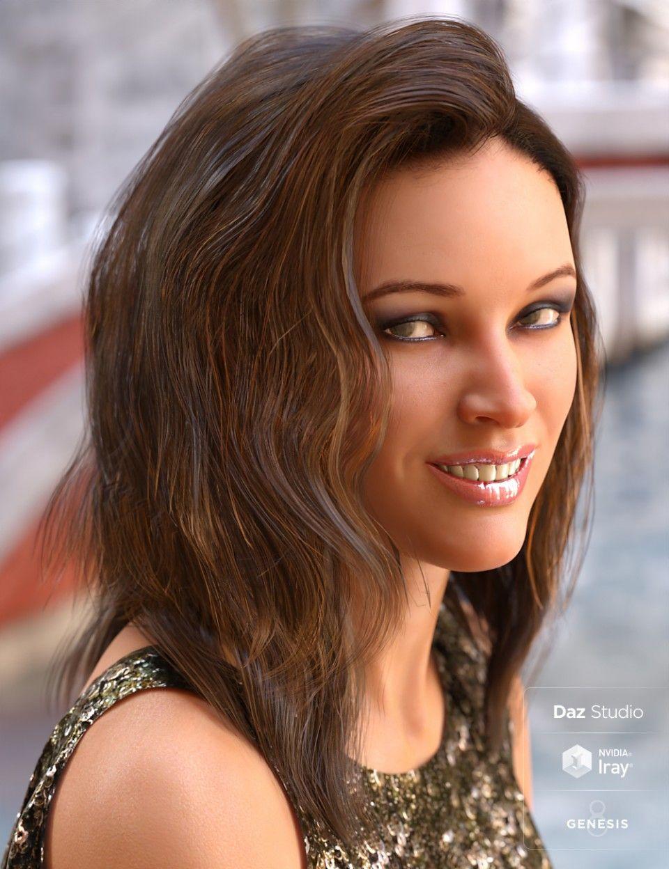 Apex Hair For Genesis 3 Genesis 8 Females Daz Poser Pinterest