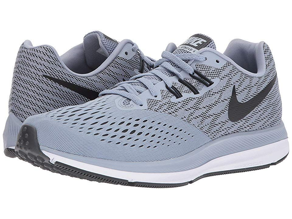 brand new a52db 01046 Nike Zoom Winflo 4 Men's Running Shoes Glacier Grey/Black ...