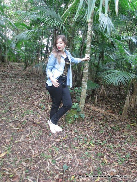 Vivy Duarte: Look do Dia: Comfy Look com camisa Jeans