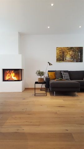 Schlichter Kamin INTERIOR DESIGN Pinterest Boden, Interiors