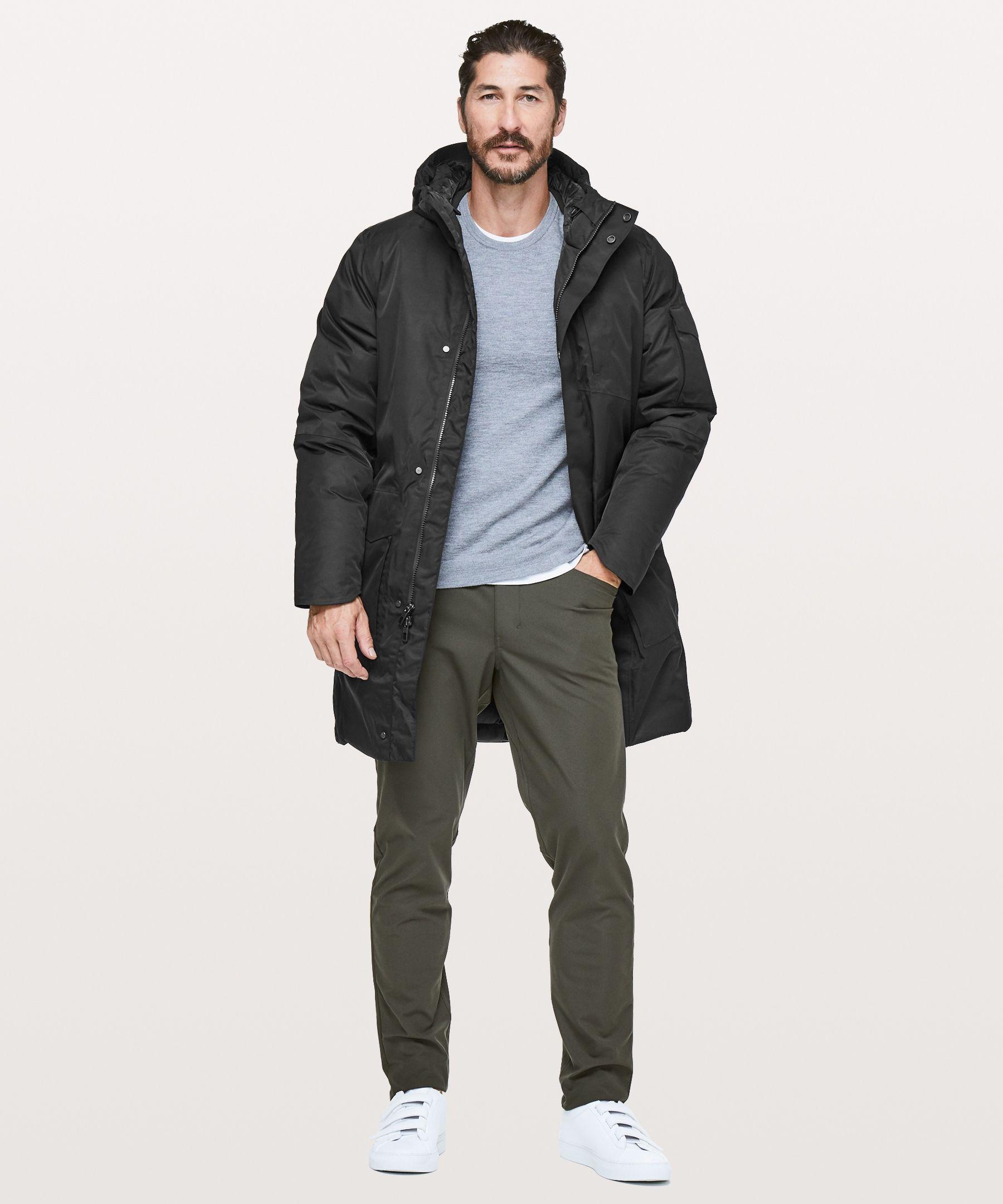 Cold City Parka Men S Jackets Coats Lululemon Mens Jackets Mens Parka Parka [ 2160 x 1800 Pixel ]